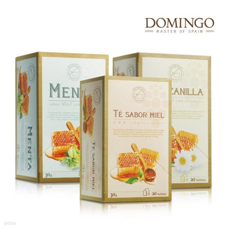 스페인 도밍고 꿀차 하센다도 꿀국화차 / 꿀민트차 / 꿀홍차