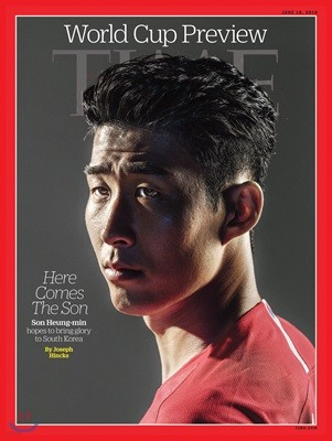 Time (주간) - Asia Ed. 2018년 6월 18일 : 손흥민 커버 (월드컵 특별호)