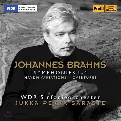 Jukka-Pekka Saraste 브람스: 교향곡 전곡, 하이든 주제에 의한 변주곡 (Brahms: Complete Symphonies, Variations on a Theme by Haydn)