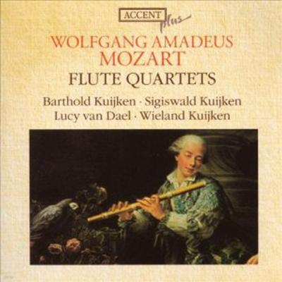 모차르트 : 플루트 사중주집 (Mozart : Flute Quartets, KV 285, 285a, 285b, 298) - Barthold Kuijken