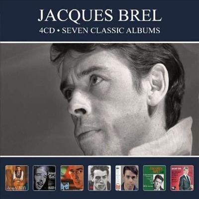 Jacques Brel - Seven Classic Albums (Digipack)(4CD)