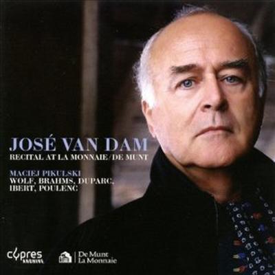 호세 반 담 - 리사이틀 (Jose van Dam - Recital At La Monnaie / De Munt) - Jose Van Dam