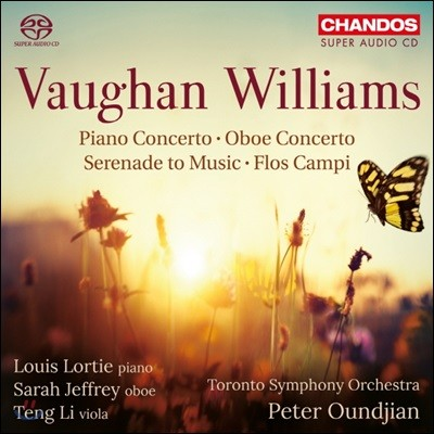 Peter Oundjian 본 윌리엄스: 피아노 협주곡, 오보에 협주곡 외 (Vaughan Williams: Piano Concerto, Oboe Concerto, Serenade to Music, Flos Campi)