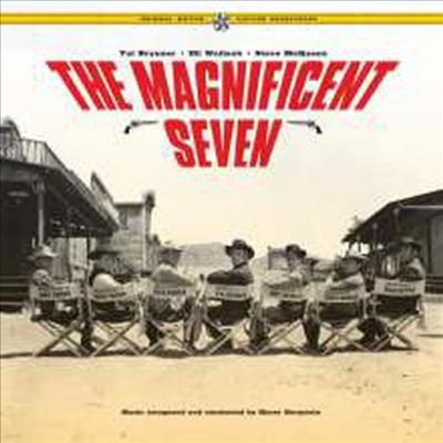 Elmer Bernstein - The Magnificent Seven (황야의 7인)(O.S.T.)(Gatefold Cover)(180G)(2LP)