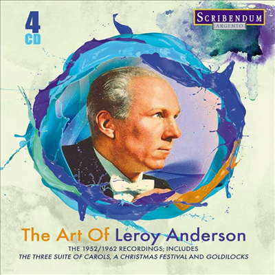 르로이 앤더슨의 예술 (The Art of Leroy Anderson) (4CD) - Leroy Anderson