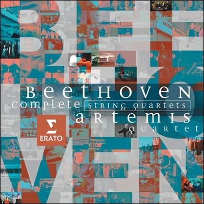Artemis Quartet 베토벤 : 현악 사중주 전곡집 (Beethoven: String Quartets Nos. 1-16)
