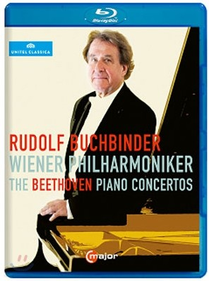 Rudolf Buchbinder 베토벤: 피아노 협주곡 전곡 - 루돌프 부흐빈더, 빈 필하모니커