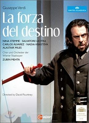 Zubin Mehta 베르디: 운명의 힘 - 주빈 메타, 비엔나 국립오페라 (Verdi: La forza del Destino)