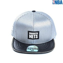 [NBA]BKN NETS 펀칭PU HYFLAT CAP(N152AP660P)