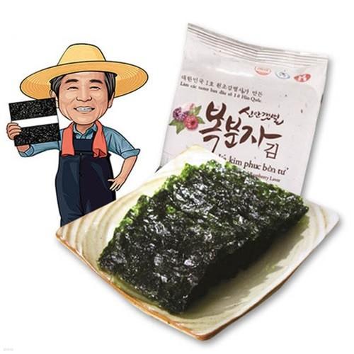 청정갯벌 고급원초로 만든 복분자김 72봉