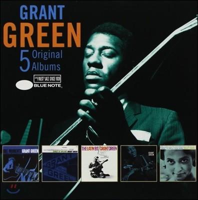 Grant Green (그랜트 그린) - 5 Original Albums