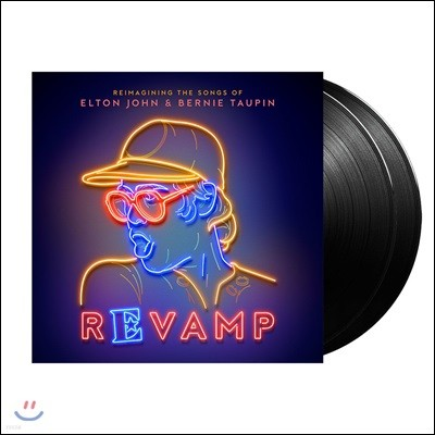 엘튼 존 명곡 커버 앨범 (Revamp: The Songs Of Elton John & Bernie Taupin) [2LP]