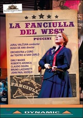Emily Magee / Juraj Valcuha 푸치니: 서부의 아가씨 (Puccini: La Fanciulla Del West) 산 카를로 극장 오케스트라, 유라이 발추하
