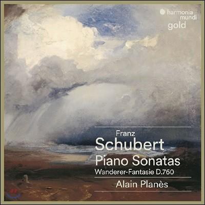 Alain Planes 슈베르트: 피아노 소나타 D537, D575, D784, D625, D840, 방랑자 환상곡 D760 (Schubert: Piano Sonatas, Wanderer-Fantasie)