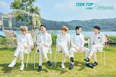 틴탑 (Teen Top) - 미니앨범 8집 리패키지 : Teen Top Story : 8pisode