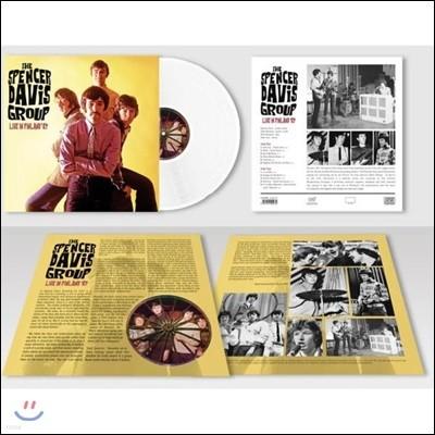 Spencer Davis Group (스펜서 데이비스 그룹) - Live In Finland '67 (1967년 핀란드 The Helsinki Culture House 라이브 실황) [폴라 화이트 컬러 LP]