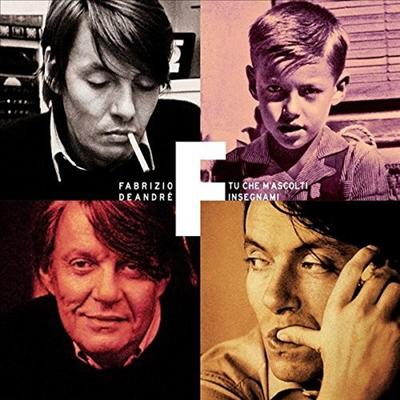 Fabrizio De Andre - Tu Che M'ascolti Insegnami (4CD Boxset)