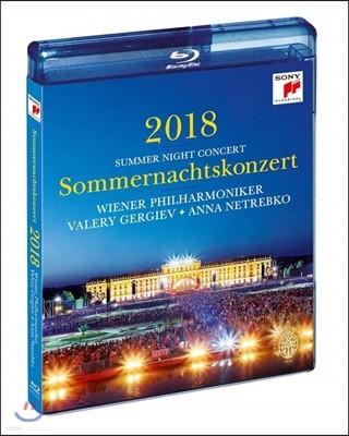 Valery Gergiev 2018 빈 필하모닉 여름 음악회 [썸머 나잇 콘서트] (Summer Night Concert 2018)