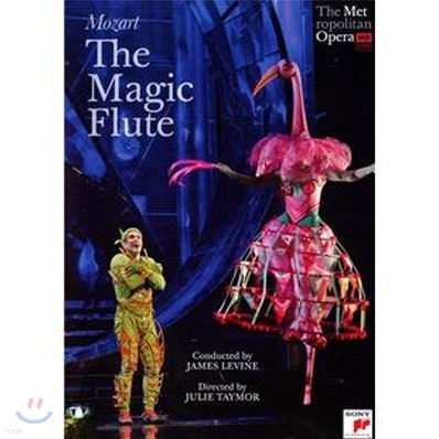 James Levine 모차르트 : 마술 피리 (Mozart : The Magic Flute) DVD