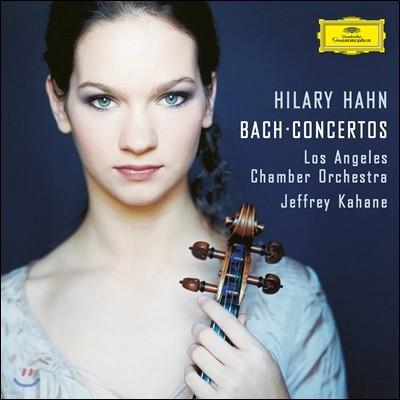 Hilary Hahn 힐러리 한 - 바흐: 바이올린 협주곡 (Bach: Concertos BWV 1040, 1042, 1043, 1060) [LP+CD]