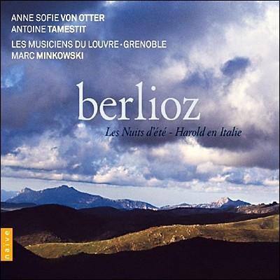 Marc Minkowski / Anne Sofie von Otter 베를리오즈: 이탈리아의 해롤드, 여름밤 (Berlioz: Les Nuits d`Ete, Harold in Italy) 안네 소피 폰 오터