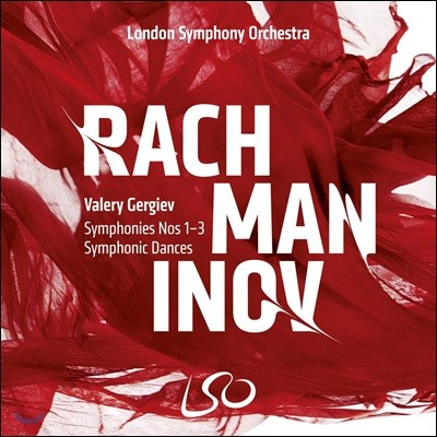 Valery Gergiev 라흐마니노프: 교향곡 전곡, 교향적 춤곡 (Rachmaninov: Symphonies Nos 1-3, Symphonic Dances)