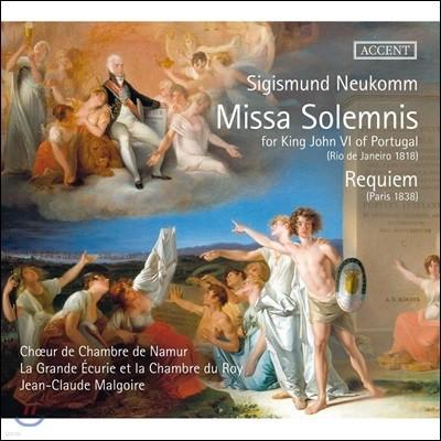 Jean-Claude Malgoire 노이콤: 장엄미사, 레퀴엠 (Neukomm: Missa Solemnis, Requiem)