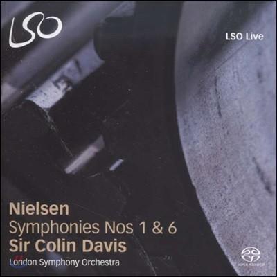 Colin Davis 닐센 : 교향곡 1,6번 (Nielsen: Symphonies Nos. 1 & 6)