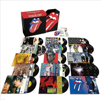 Rolling Stones - Studio Albums Vinyl Collection 1971 - 2016 (Abbey Road Studios / Half Speed Mastering)(MP3 Download)(180g)(Limited 20 LP Box Set)