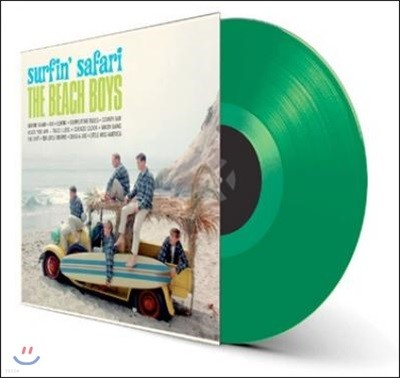 Beach Boys (비치 보이스) - Surfing Safari [그린 컬러 LP]