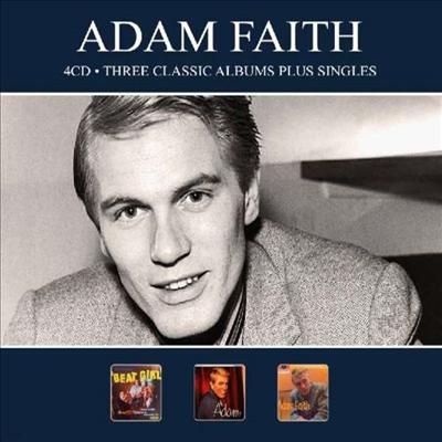 Adam Faith - 3 Classic Albums Plus Singles (Digipack)(4CD)