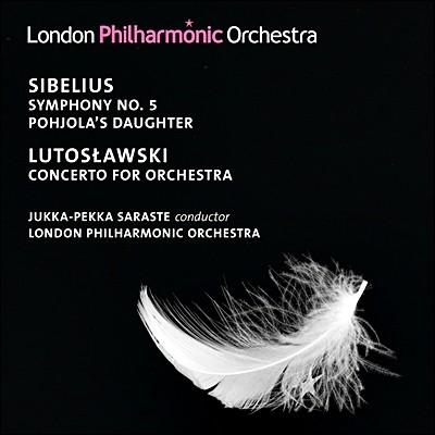 시벨리우스 : 교향곡 5번, 포횰라의 딸 / 루토스와프스키 - 사라스테