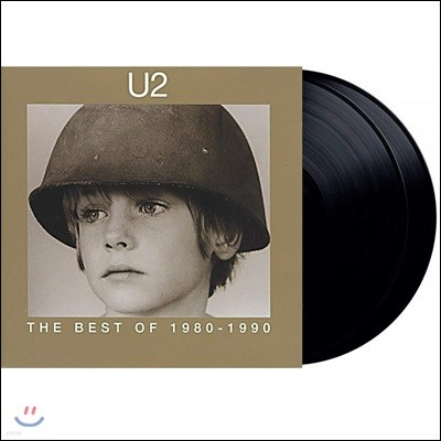 U2 - The Best Of 1980-1990 유투 1988년 첫 공식 베스트 앨범 [2LP]