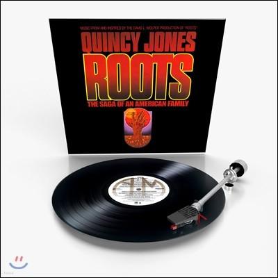 뿌리 드라마음악 (Roots: The Saga Of An American Family OST by Quincy Jones 퀸시 존스) [LP]