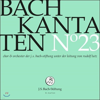 Rudolf Lutz 바흐: 칸타타 23집 BWV.109, 164 & 187 (Bach: Cantatas, Vol. 23)