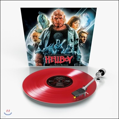 헬보이 (Hellboy OST by Marco Beltrami) [레드 컬러 LP]