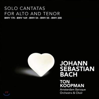 Ton Koopman 바흐: 알토와 테너를 위한 솔로 칸타타 작품집 (Bach: Solo Cantatas for Alto & Tenor)