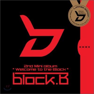 블락비 (Block B) - 미니앨범 2집 : Welcome to the BLOCK [한정반]
