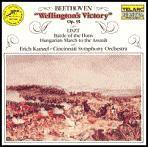Erich Kunzel / 베토벤 : 웰링톤의 승리, 리스트 : 훈족의 전투, 헝가리의 돌격 행진곡 (Beethoven : Wellington's Victory Op.91, Liszt : Hunnenschlacht, Hungarian Battle March) (수입/CD80079)