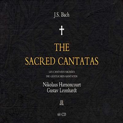 바흐: 칸타타 전곡집 (Bach: The Sacred Cantatas) (60CD) - Nikolaus Harnoncourt
