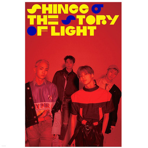 [주로파/포스터] 샤이니(SHINee) The Story of Light EP.3 (브로마이드+지관통)