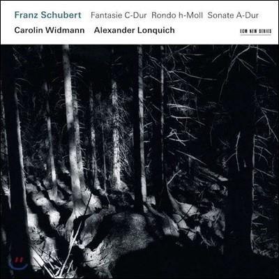 Carolin Widmann 슈베르트: 바이올린 소나타, 환상곡, 론도 - 카롤린 비트만 (Schubert: Fantasy D 934, Rondo D 895, Sonata D 574)