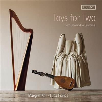 두 개의 장난감 - 하프와 류트를 위한 다양한 음악 (Toys for Two - Works for Harp and Lute) - Margret Koll