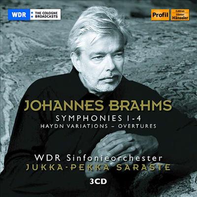 브람스: 교향곡 전집 1 - 4번 (Brahms: Complete Symphonies 1 - 4) (3CD) - Jukka-Pekka Saraste
