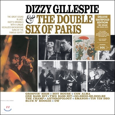 Dizzy Gillespie (디지 길레스피) - Dizzy Gillespie & The Double Six Of Paris [LP]