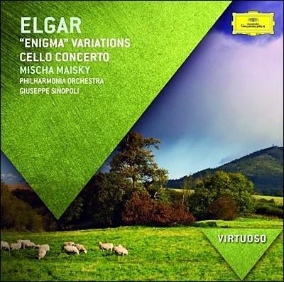 Mischa Maisky / Giuseppe Sinopoli 엘가: 첼로 협주곡, 수수께끼 변주곡 (Elgar: Cello Concerto & Enigma Variations) 미샤 마이스키