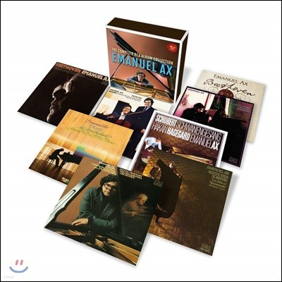 엠마누엘 엑스 RCA 레코딩 전집 (Emanuel Ax - The Complete RCA Album Collection)