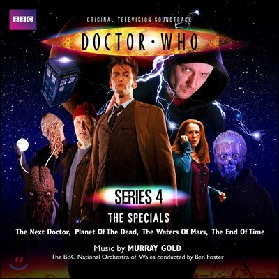 BBC 닥터 후 시리즈 4 스페셜 앨범 (Doctor Who Series 4: The Specials OST by Murray Gold)