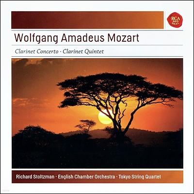 Richard Stoltzman 모차르트 : 클라리넷 협주곡, 오중주 (Mozart: Clarinet Concerto, Clarinet Quintet) 리차드 스톨츠만