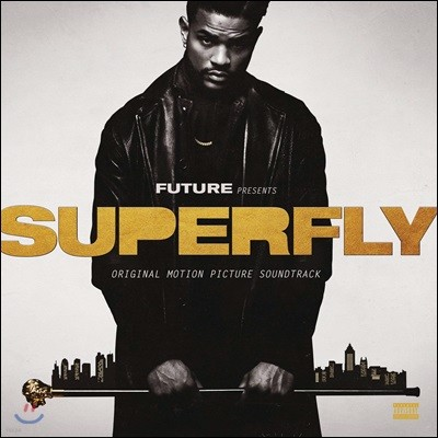 Future, 21 Savage & Lil Wayne (퓨쳐, 21 세비지, 릴 웨인) - Superfly (Original Motion Picture Soundtrack) [스모키&골드 컬러 2 LP]